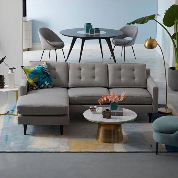 sofa da đẹp hay vải nỉ hợp với căn họ chung cư