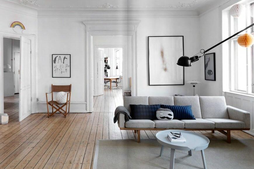 ghế sofa phòng khách mùa Đông Xuân