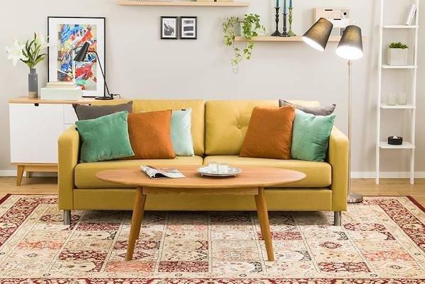 Ghế sofa phòng khách giá rẻ màu Vintage