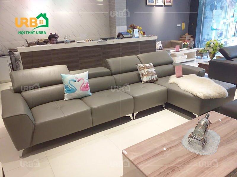 Giải đáp thắc mắc nên mua sofa nỉ hay da tốt hơn ?3