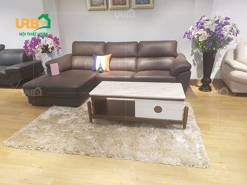 Màu sắc sofa khá quan trọng trong việc làm nổi bật phòng khách