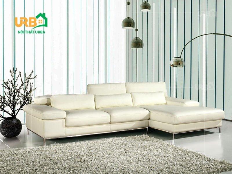 Sofa phòng khách hiện đại mang lại không gian trang nhã, lịch sự