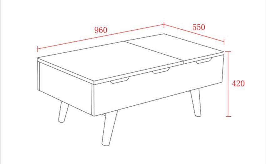 Kích thước bàn trà sofa bao nhiêu là chuẩn nhất? 3