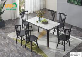 Bàn ghế ăn mã 1820