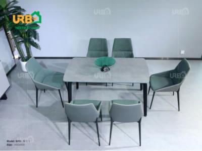 Bàn ghế ăn mã BA 1809