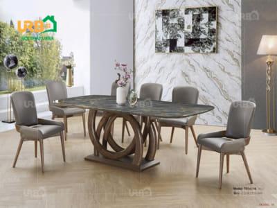 Bàn ghế ăn mã BA 1813