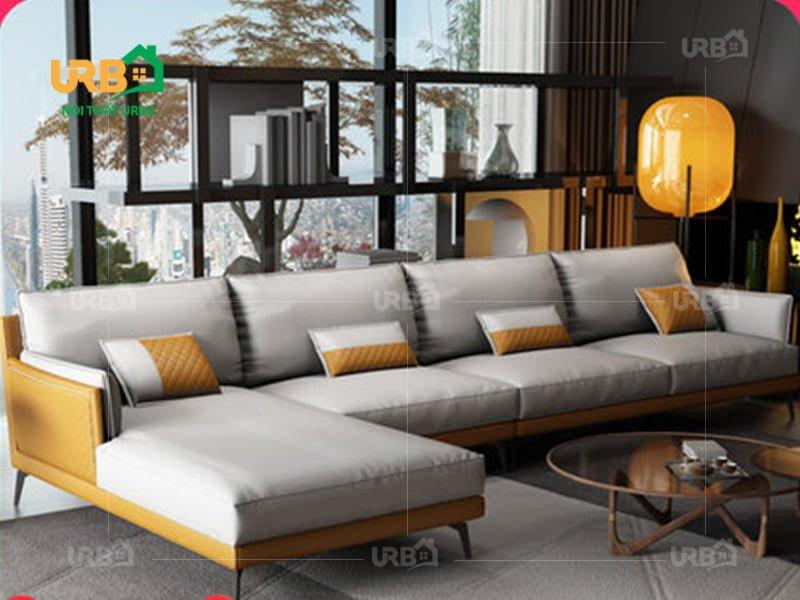 Mẫu sofa góc đẹp mang giá trị gì cho phòng khách ?