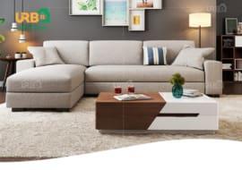 sofa góc vải nỉ
