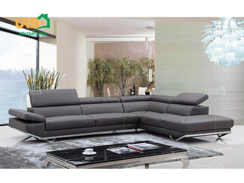Mẫu sofa góc đẹp mang giá trị gì cho phòng khách ?2