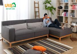 Bộ ghế sofa nỉ giá rẻ